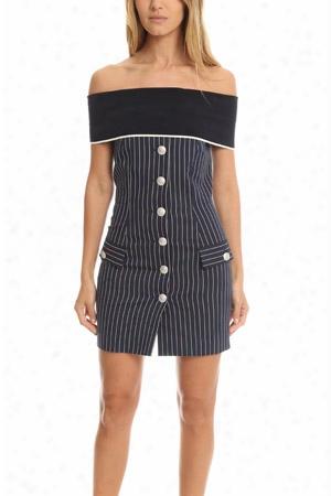Pierre Balmain Stripe Dress