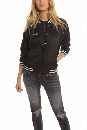 R13 Double Trouble Roadie Bomber Jacket