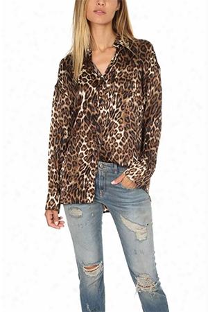 R13 Leopard Big Boy Shirt