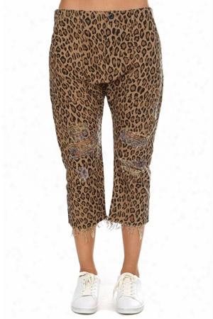 R13 Leopard Utility Pant