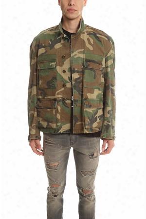 R13 Misfit Camo Field Jacket