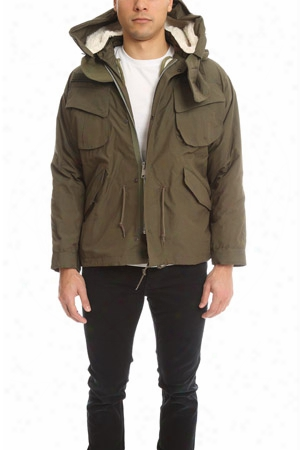 Shuttle Notes Army Jacket