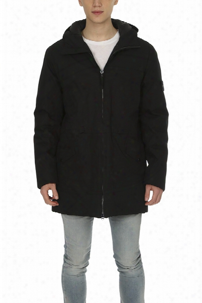 Stone Island Hooded Down Jacket