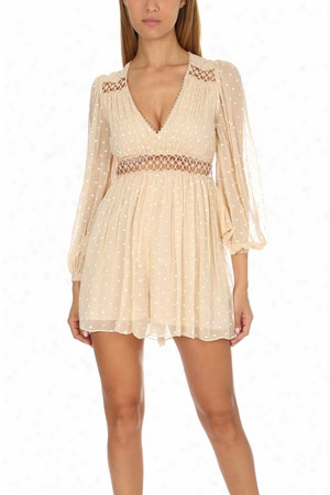 Zimmermann Bowerbird Empire Playsuit