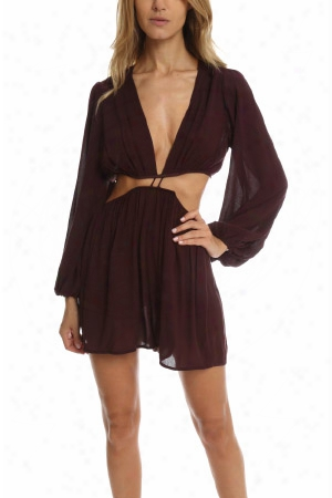 Zimmermann Chroma Cut Out Playsuit