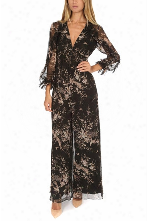 Zimmermann Maples Feathery Jumpsuit