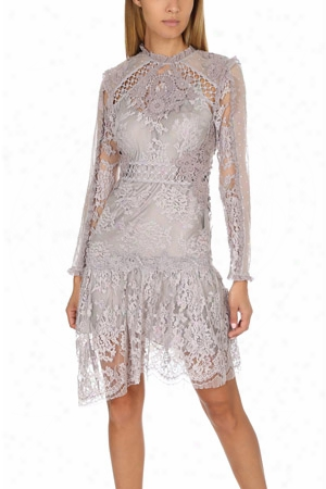 Zimmermann Stranded Applique Dress