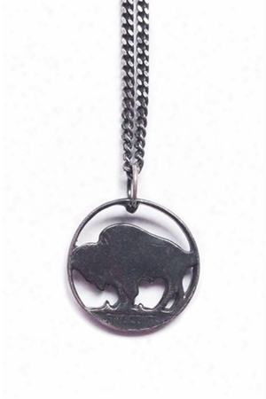 18 Waits Bison Necklace
