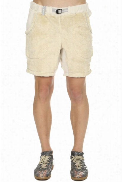 And Wander High Loft Fleece Short Pants