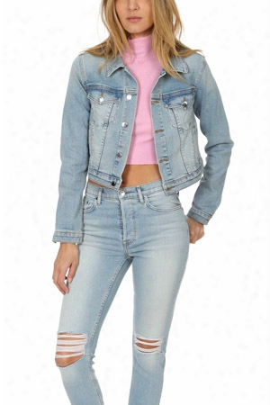 Cotton Citizen Crop Denim Jacket