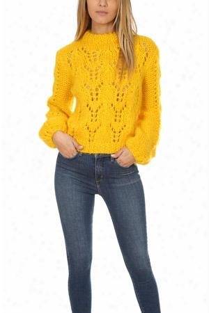 Ganni Julliard Mohair Pullover Sweater