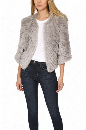 H Brand Jagger Rabbit Fur Jacket