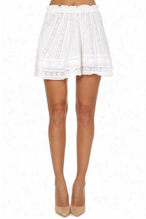 Loveshackfancy Victorian Mini Skirt