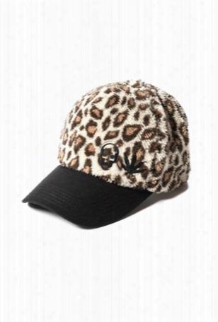 Lucien Pellat-finet Fleece Leopard Cap