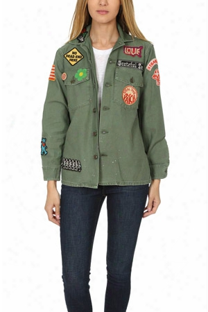 Madeworn Grateful Dead Army Jacket