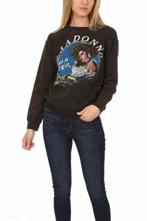 Madeworn Madonna Like A Virgin Fleece Sweatshirt