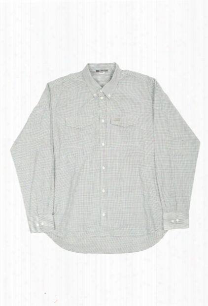 Maharishi Cotton Check Plaid Shirt