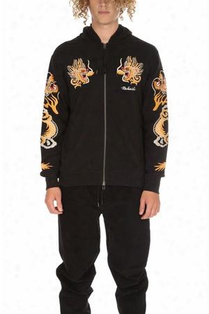 Maharishi Golden Hooded Sweatshirt