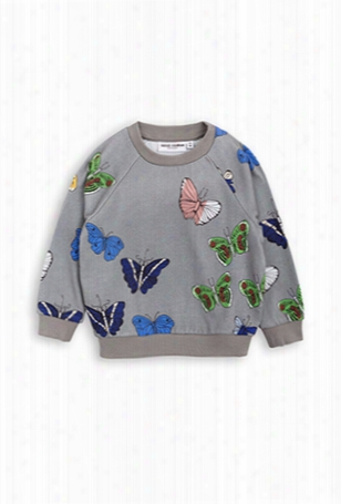 Mini Rodini Butterflies Sweatshirt