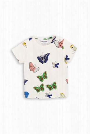 Mini Rodini Butterflies T-shirt