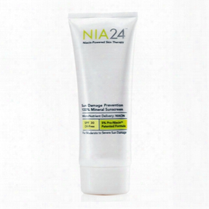 Nia24 100% Mineral Sunscreen Spf 30