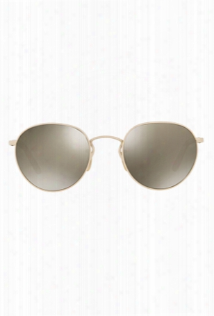 Oliver Peoples Hassett Bone / Grey Goldtone