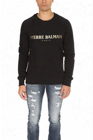 Pierre Balmain Logo Sweatshirt