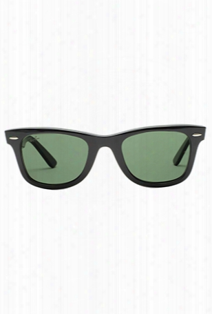 Ray-ban Original Wayfarer Black/green