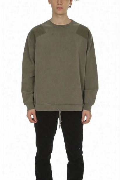 Remi Relief Fleece Military Rcewneck