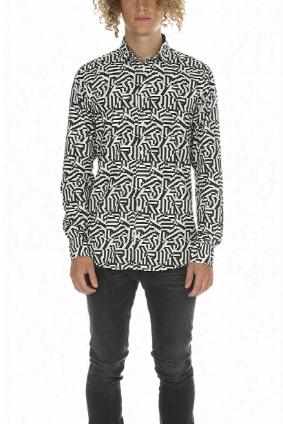 Richard James Dazzle Combo Shirt