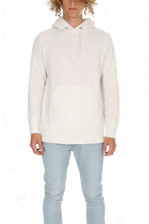 Side Slope Knitted Hoody