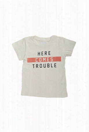 Sol Angeles Trouble Crewneck Tee