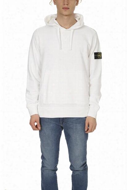 Stone Island Hooded Pullover Sweatshirt