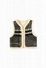 Oaks of Acorn Fuzzy Monochrome Vest