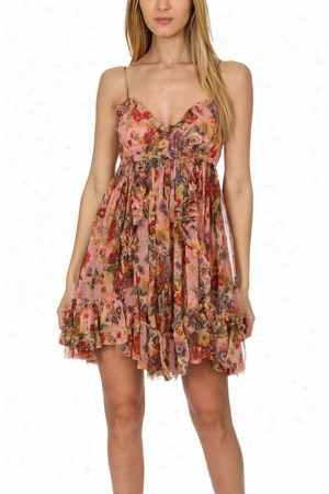 Zimmermann Lovelorn Frill Mini Dress