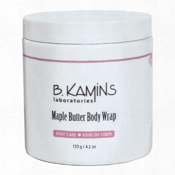 B. Kamins Maple Butter Body Wrap