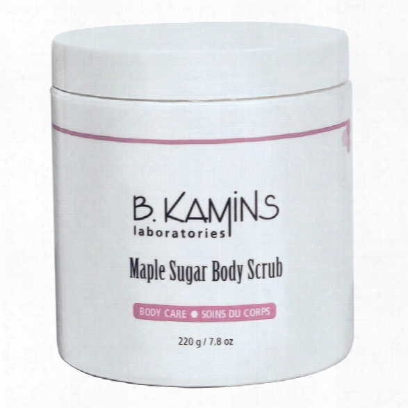 B. Kamins Maple Sugar Body Scrub