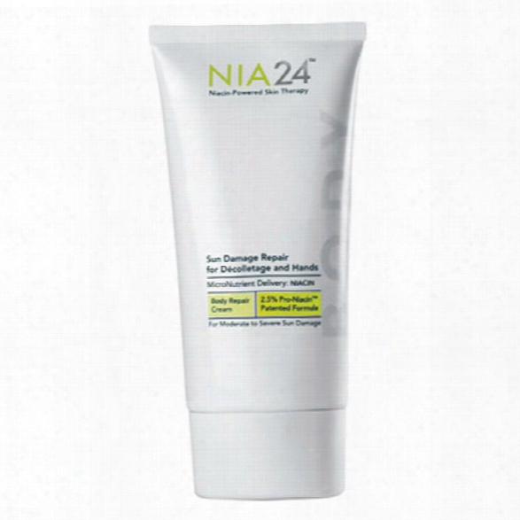 Nia24 Sun Damage Repair For Decolletage And Hands