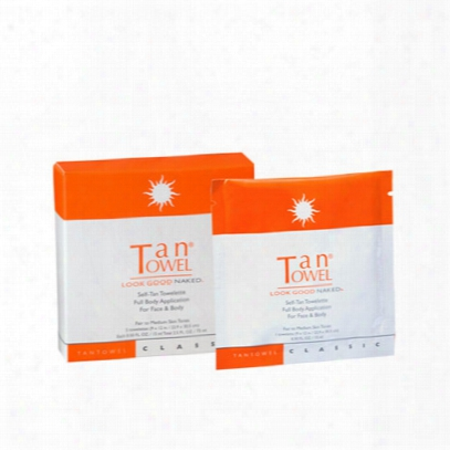 Tan Towel Full Body Classic 5 Pack