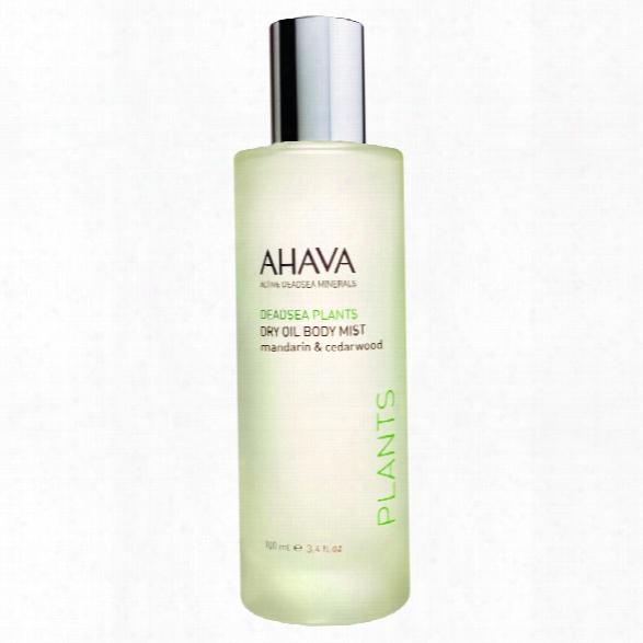 Ahava Dry Oil Consistency Mist Mandarin Cedarwood