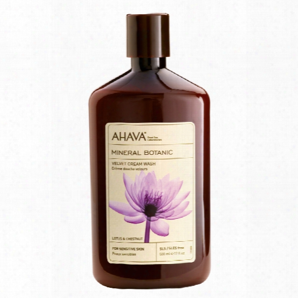 Ahava Mineral Botanic Cream Wash Lotus & Chestnut
