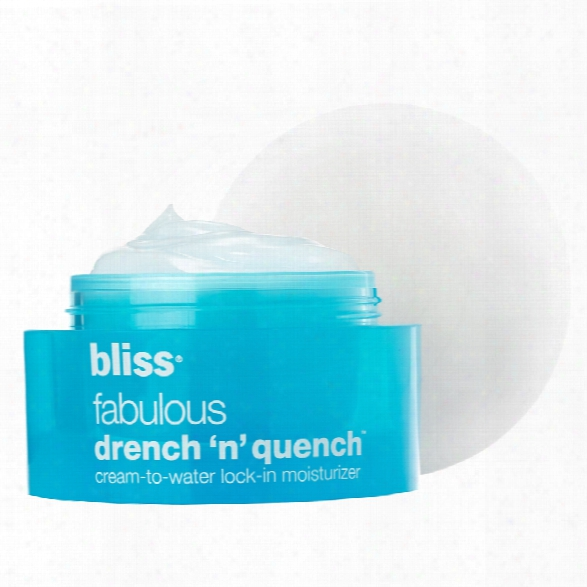 Bliss Fabulous Drench 'n' Quench Moisturizer