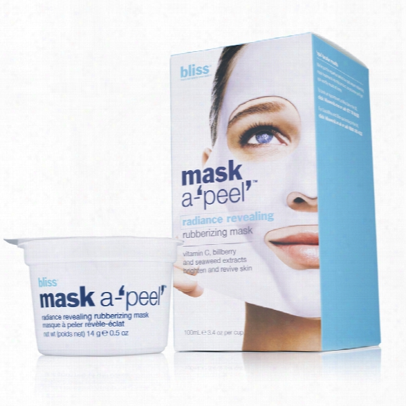Bliss Mask A-'peel' Radiance Revealing Rubberizing Mask