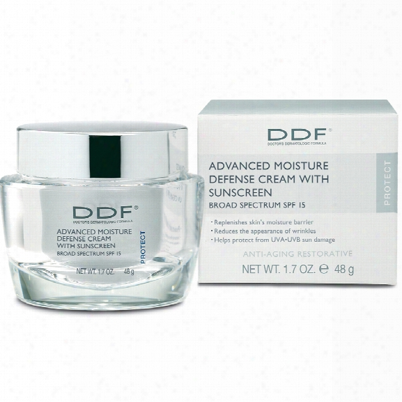 Ddf Advanced Moisture Defense With Spf 15