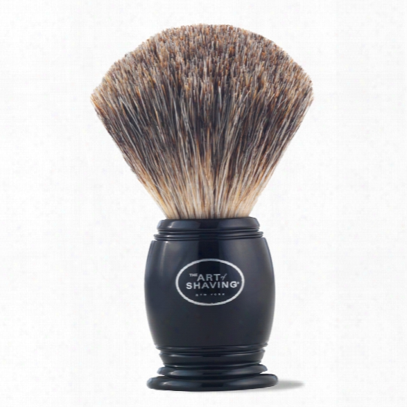 The Art Of Shaving Brush Pure Badger - Black