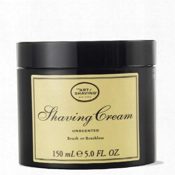 The Art Of Shaving Cream Jar