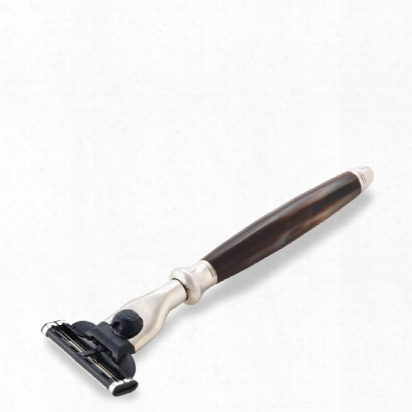 The Art Of Shaving Mach3 Classic Horn And Nickel Razor