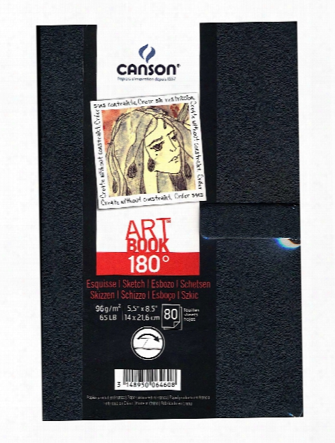180 Degree Hardbound Sketch Books 3 1 2 In. X 5 1 2 In. 80 Sheets