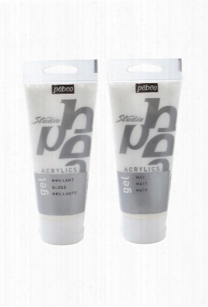 Acrylic Gel Mediums Gloss 100 Ml Tube