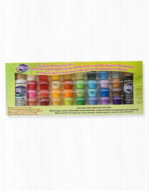 Americana Acrylic Paint Value Pack Set Of 34
